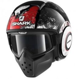 CASCO SHARK DRAK EVOK BLACK...