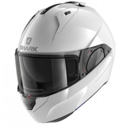 CASCO SHARK EVO-ES BLANK WHITE